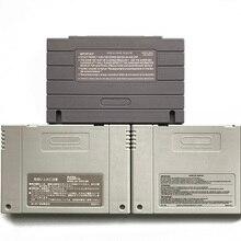 SNES استبدال علبة خرطوشة قذيفة مع 2 قطعة المسمار البرقوق المعدنية و 1 ملصقا الخلفي ل snes sfc