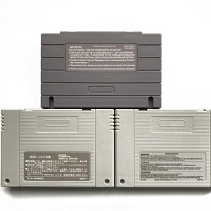 Image 1 - SNES Replacement Case Cartridge Shell with 2pcs Metal plum screw and 1 back sticker for snes sfc