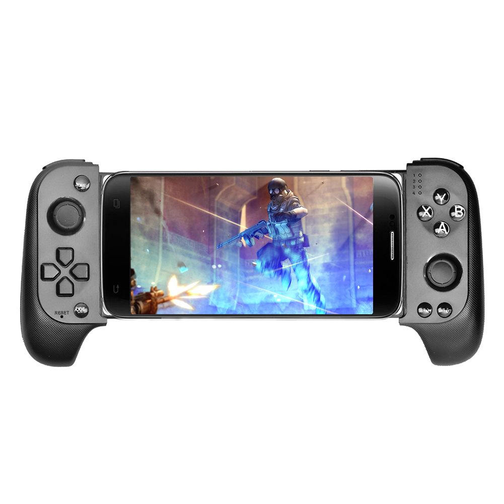 Wireless Android Gamepad Wireless Game Controller Bluetooth  Telescopic Gamepad Joystick For Mobile Phone Tablet TV Box Holder