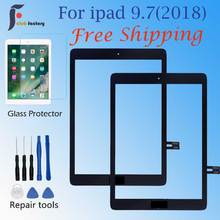 Screen Repair For iPad 9.7  A1893 A1954 Touch Screen Digitizer panel  (2018 Version)  Touch Screen Front Outer Panel Glass стоимость