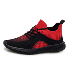 Fashion Sneakers Men Casual Shoes Outdoor Low-cut High Qualtiy Man New Shockproof Exercise Flyknit Brand Design
