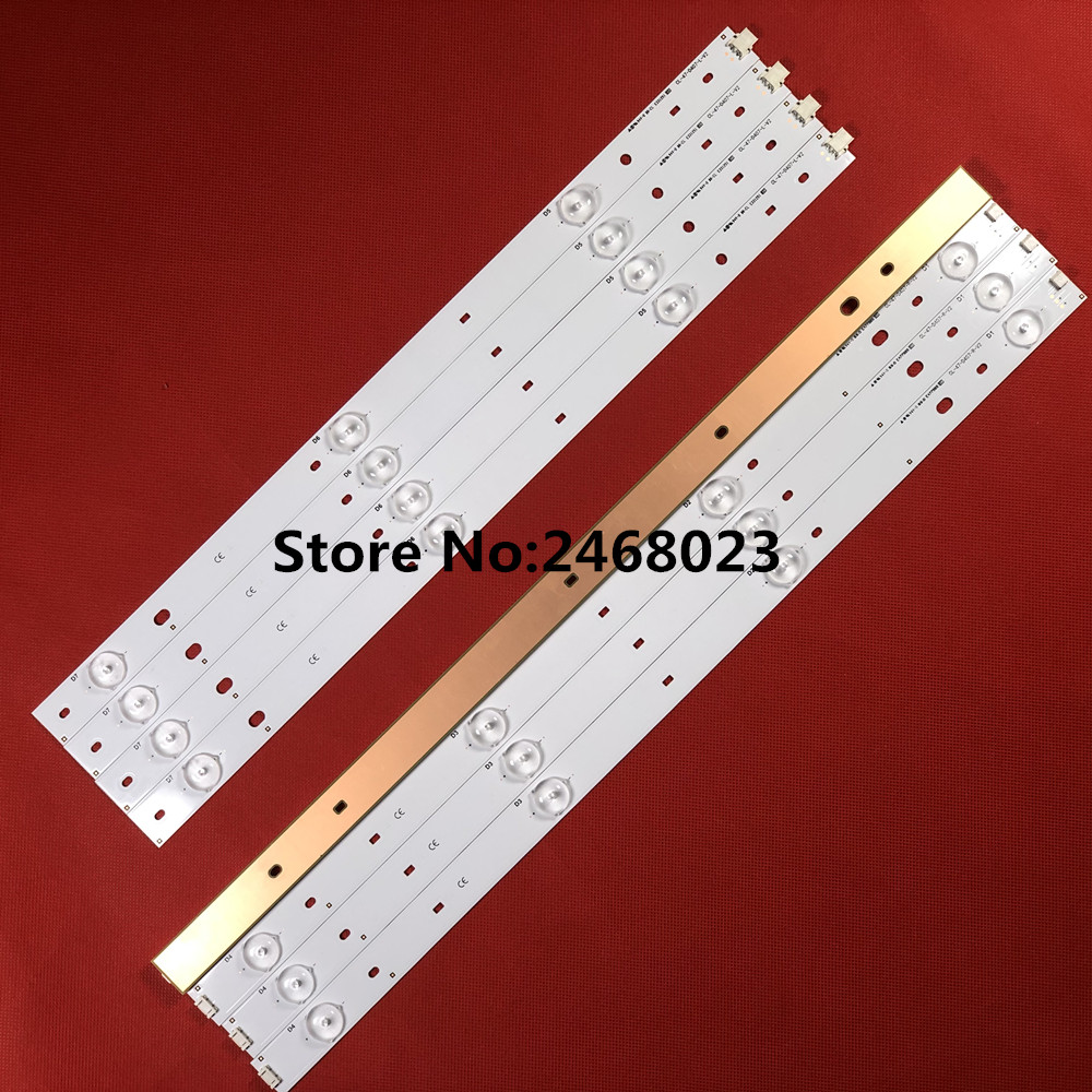 LED Backlight Strips (8) For Phi Lips CL-47-D407-R-V2 CL-47-D407-L-V2 DT-BCMN-U6 DB-B23-U6 For Phill Ips47 Inch TV
