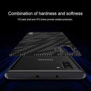 Image 2 - Samsung Galaxy not için 10 artı durumda Nillkin pırıltı degrade dokulu plastik silikon hibrid kılıfları Samsung Galaxy not için 10