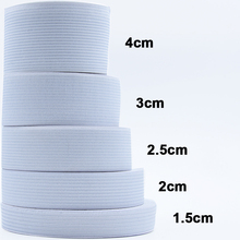 1-5 метров, плоская эластичная лента, аксессуары для пошива одежды, нейлоновая тесьма для одежды, Швейные аксессуары, ширина 1/1.5/ 2/2.5/3/4/5 см