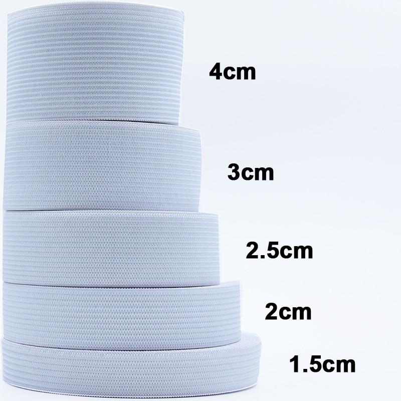 Для детей от 1 года до 5 лет м плоский Эластичная лента аксессуары для пошива одежды нейлоновая тесьма для одежды аксессуары для шитья Ширина...