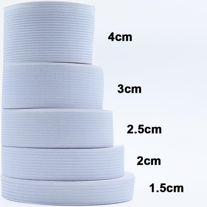 1-5 metrów gładkie, elastyczne pasek akcesoria do szycia odzieży nylonowa taśma szycie ubrań akcesoria szerokość 1/1. 5/2/2. 5/3/4/5cm