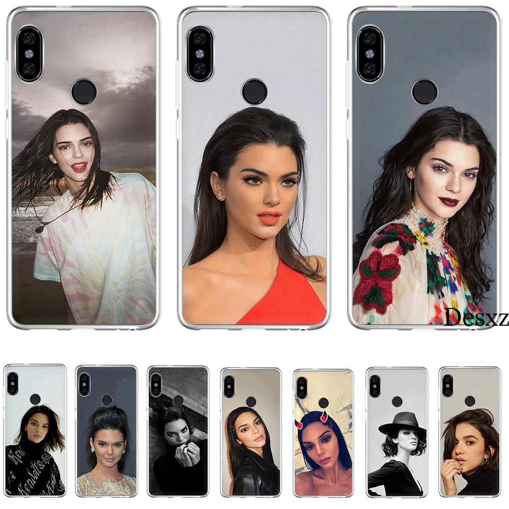 Mobile Phone Case for Xiaomi Redmi GO 7 S2 4A 4X 5 5A Plus 6 6A 7A K20 Pro Cover Protection Kendall Jenner