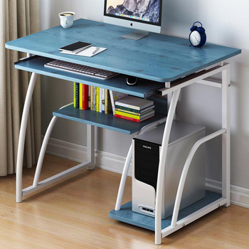 Mesa sencilla de PC para ordenador portátil, mesa de estudio para casa...