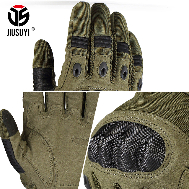 Touch Screen Army Military Tactical Gloves Paintball Airsoft Shooting Combat Anti-Skid Bicycle Hard Knuckle Full Finger Gloves 4