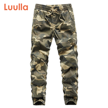 Luulla Men Jogger 2020 Spring Vintage Pencil Harem Cargo Pants