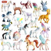 Oenux Schöne Mythische Elfen Märchen Tiere Modell Action-figuren Original Elf Fliegen Pferd Figuren PVC Sammlung Spielzeug Für Kinder