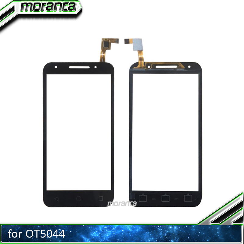 Touch Screen for <font><b>Alcatel</b></font> One Touch U5 5044D 5044I <font><b>5044T</b></font> 5044Y OT5044 Touch Digitizer Panel Front Glass Lens Sensor White Black image