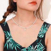 Hot selling fashion shell necklace Bohemian style summer beach star with wedding birthday gift