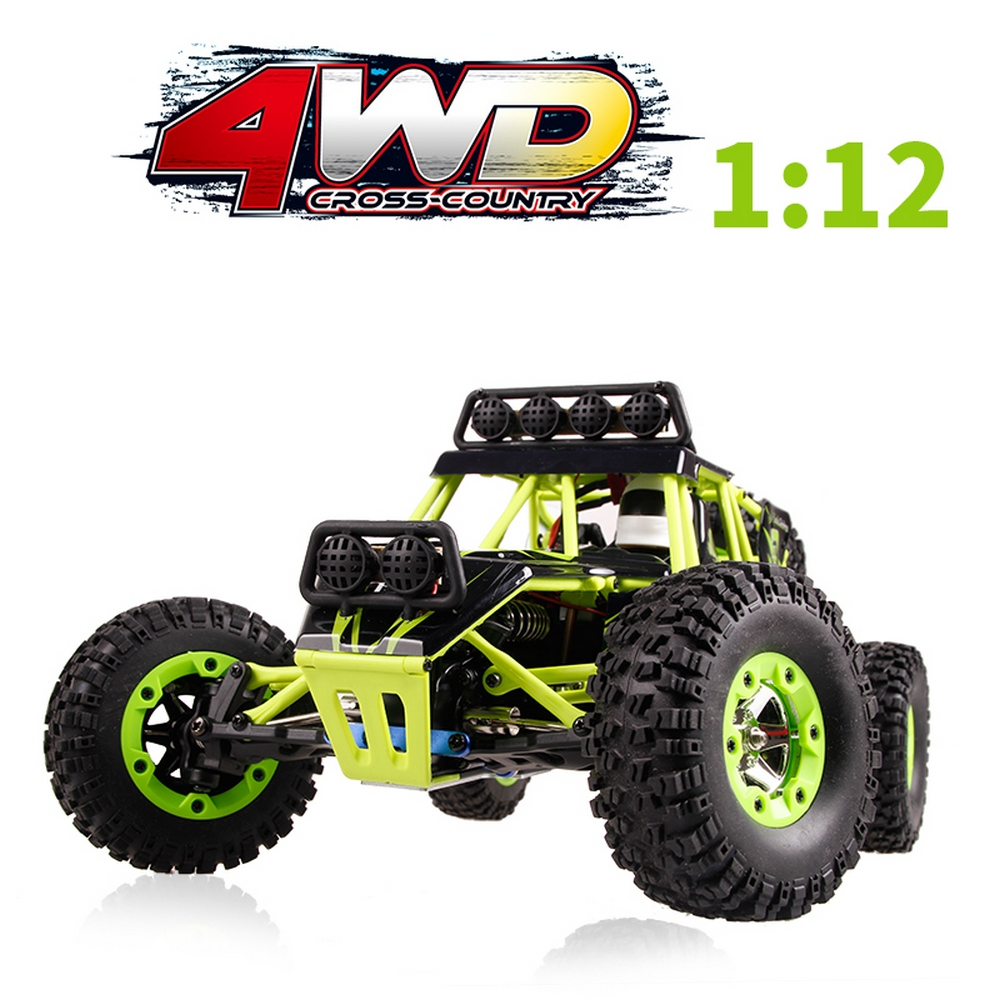 WLtoys RC Car 12428 4WD 1/12 2.4G 50km/h Remote Control Car Electric Brushed Buggy Off-road Climbing Cars Vehicle Toys for Boys