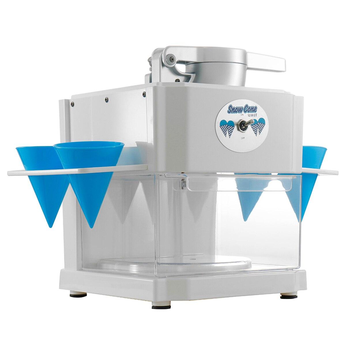 Electric Ice Crusher Shaver Maker 3L DIY Slushy Sand Block Break Machine Home Kitchen Tools for Shaved Ice/Snow Cones/Slushies