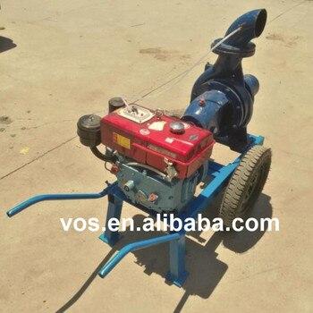 6 inch agricultural farm irrigation diesel engine water pump, gasoline engine water pump machine for sale