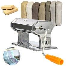 Портативный роллер для полимерной глины из нержавеющей стали, ручная работа, пресс для пасты, неэлектрические инструменты