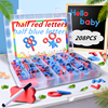 Magnetic Letters 208 Pcs Uppercase Lowercase Foam Alphabet ABC Magnets for Fridge Refrigerator Educational Toys Set discount