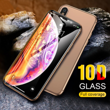 10D Curved Protective Glass For IPhone X XR XS MAX Tempered Glass Full Cover For IPhone X XR XS MAX Screen Protector Glass Film for iphone xr x xs max glass screen protector tempered glass camera lens protective film for iphone xr x xs max screen protector