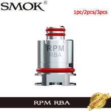 Oryginalny SMOK RPM RBA cewka DIY głowy parownik dla E papieros SMOK RPM40 Pod Vape zestaw do organizacji Vaping tanie tanio SMOK PRM RBA Coil DS Dual