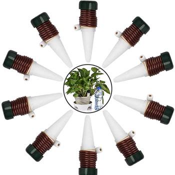 10 sztuk partia automatyczne samo podlewanie sondy System roślin ceramiczne kolce kreatywny ogrodnictwo doniczka doniczkowe urządzenie kroplowe tanie i dobre opinie ISHOWTIENDA CN (pochodzenie) Zestawy do podlewania