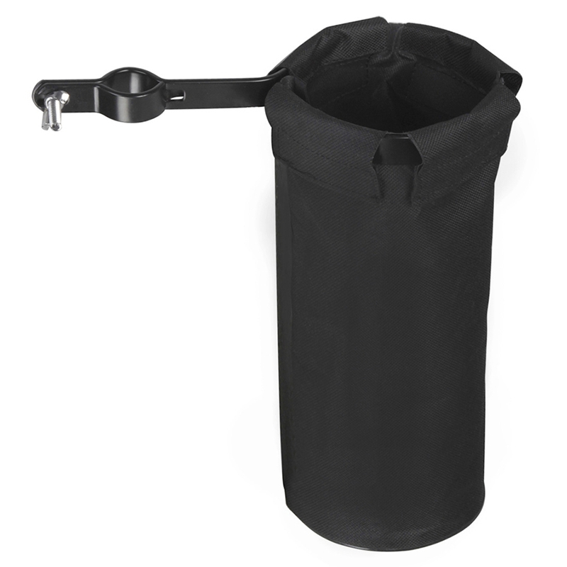 High Quality Drum Barrel Drumstick Package Bag Case Adjustable 600D Black High Capacity Instrument Accessory