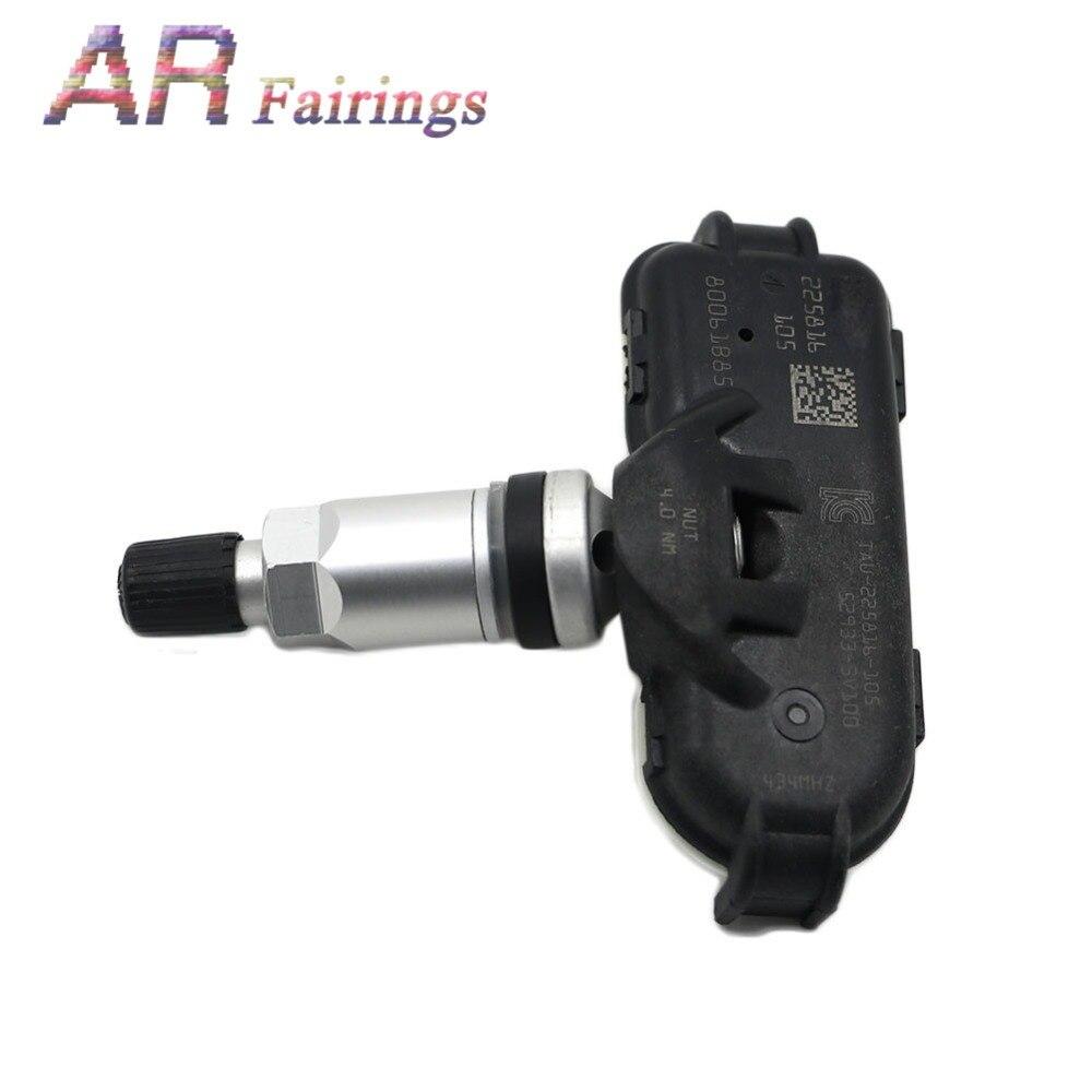 4 sztuka 433Mhz czujnik monitorowania ciśnienia w oponach 52933-3V100 529333V100 w oponach TPMS dla Hyundai i40 VF 2011-2014 dla Asuna ciśnienia w oponach