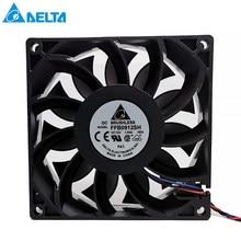 Novo para delta 90mm ventilador 92*92*25mm ffb0912sh com conector original duplo motor 9025 dc 12v 1.04a