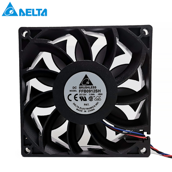 Brand new For delta 90mm fan 92*92*25mm FFB0912SH with original connector dual motor 9025 DC 12V 1.04A brand new in original box philips gc5033 80 azur elite steam iron with optimaltemp technology original brand new