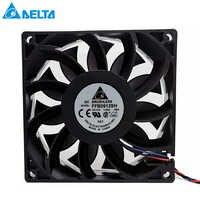 Brand new Per delta 90 millimetri fan 92*92*25mm FFB0912SH con connettore originale doppio motore 9025 DC 12V 1.04A