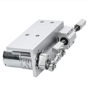 Image 2 - 330L Small DIY Design Reciprocating Cycle Linear Actuator with DC Gear Motor 12V 24 Volt Stroke 12/16/20mm Adjustable 5~1000 Rpm