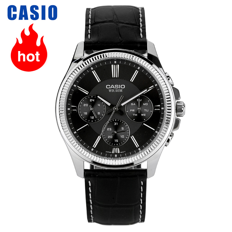 Casio Watch Pointer Series Quartz Men's Watch MTP-1375L-1A
