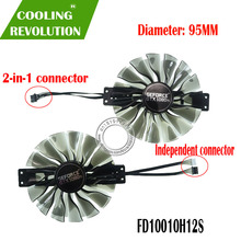 FD10010H12S GPU VGA Card Cooler Fan For Palit GTX 1080Ti GTX1080Ti GameRock Premium Edition Graphics Video Card Cooling