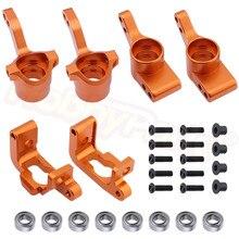 Aluminium Vordere Knuckle Basis C Hub Rear Hub Carrier Set (L/R) (Al.) Upgrade Teile Für RC HPI WR8 Flux Bullet ST MT 3,0 Ken Block