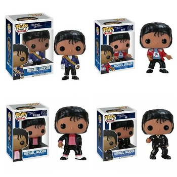 FUNKO POP Michael Jackson Beat It Action Figure Toys 10CM PVC Collectable Model for Kids Chritsmas Birthday Gifts 2