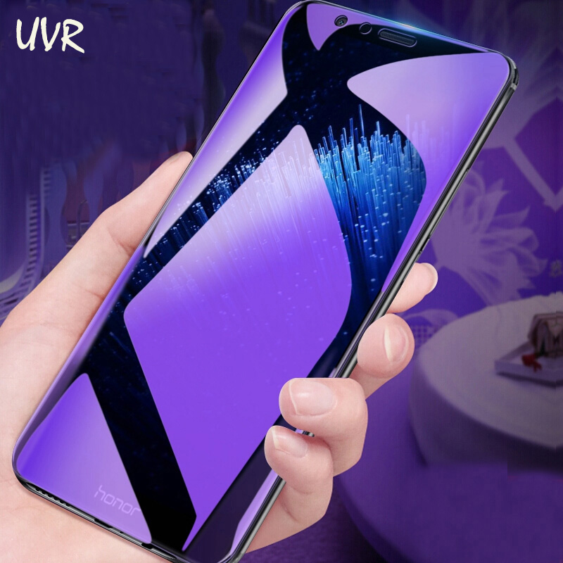 For Huawei Honor 7X 8X Max 7A 7C Pro 5.45 5.7 Anti-blue Tempered Glass Screen Protector Honor 9X 8X 8A Pro 8C 6X Anti Blue Film