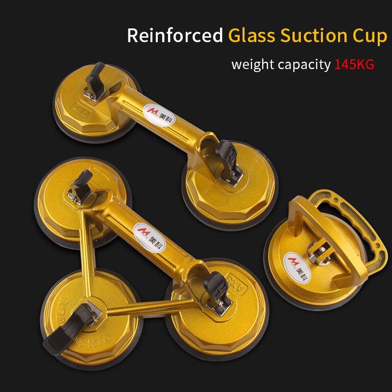 ואקום יניקה כוס זכוכית מרים עוצמה זכוכית אריח Carrier גריפר פרייר צלחת זכוכית במראה גרניט הרמת כלי