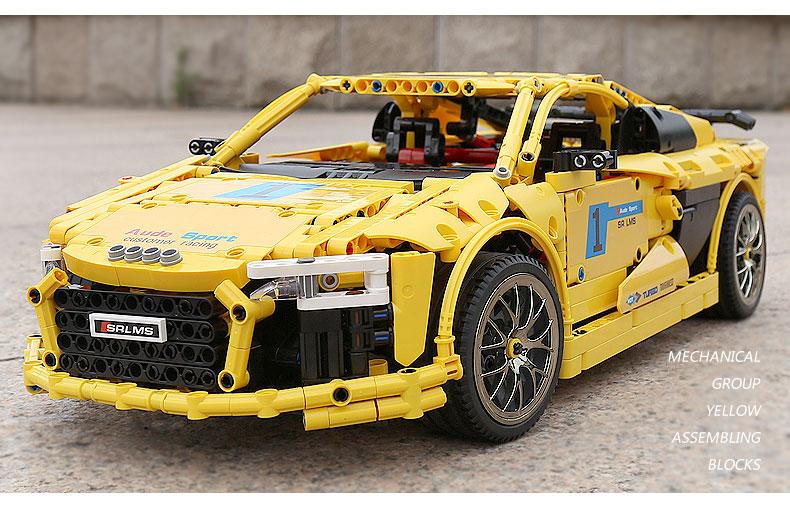 MOULD KING Compatible 13127 MOC-4463  Audis R8 V10 Speed RS5 Car Building Block (1896PCS) 8