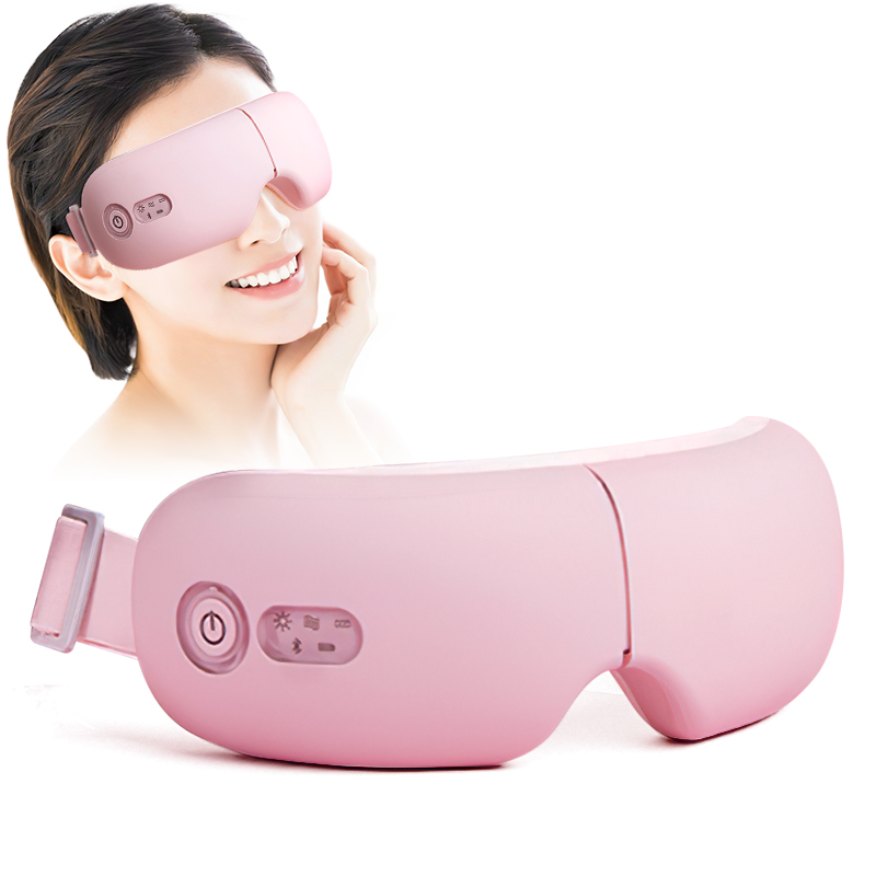 DIOZO Vibration Eye Massager Wrinkle Relieve Hot Compression Therapy Massage Eye Care Device Eye Massager