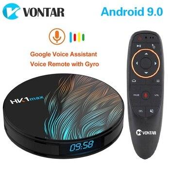 2020 Smart TV Box HK1 Max Android 9.0 4GB 128GB 64GB 32GB Rockchip 4K Youtube Wifi Netflix Android TV Set top Box 2GB16GB