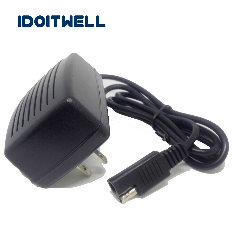 <font><b>12V</b></font> lead acid <font><b>battery</b></font> charger B CONNECTOR 14.4V 1A SAE wall charger for <font><b>12v</b></font> 6AH 7AH <font><b>8AH</b></font> 10AH 12AH SLA AGM GEL laed-acid <font><b>battery</b></font> image
