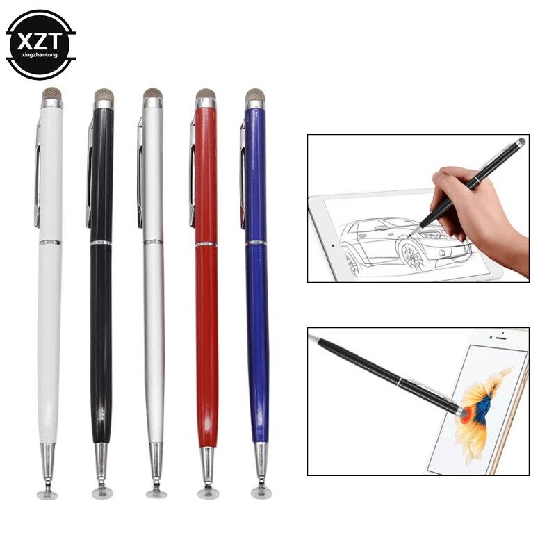 2в1 емкостный стилус с сенсорным экраном, стилус с проводящей сенсорной присоской из микрофибры, сенсорная головка для планшета, ПК, смартфона|Стилусы для планшетов|   | АлиЭкспресс