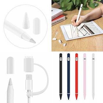 4 en 1 Anti pérdida silicona Correa lazo Cable cuerda para Apple Airpods 1 Generación para Airpods One auriculares Accesorios