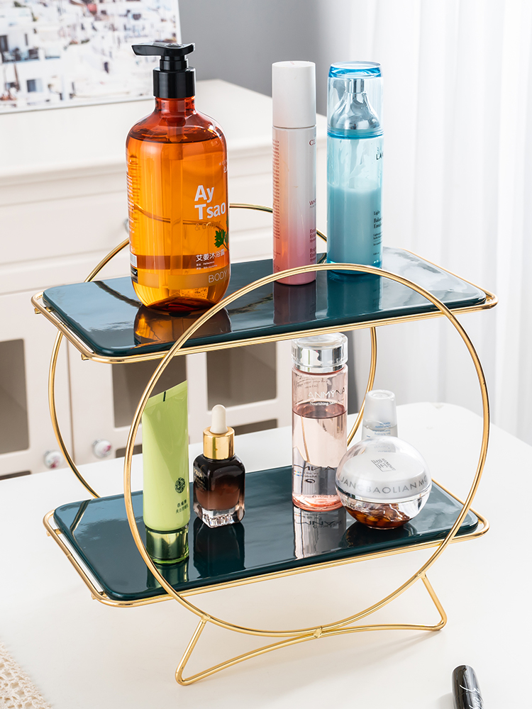 Decoration Makeup Rack Storage Tray