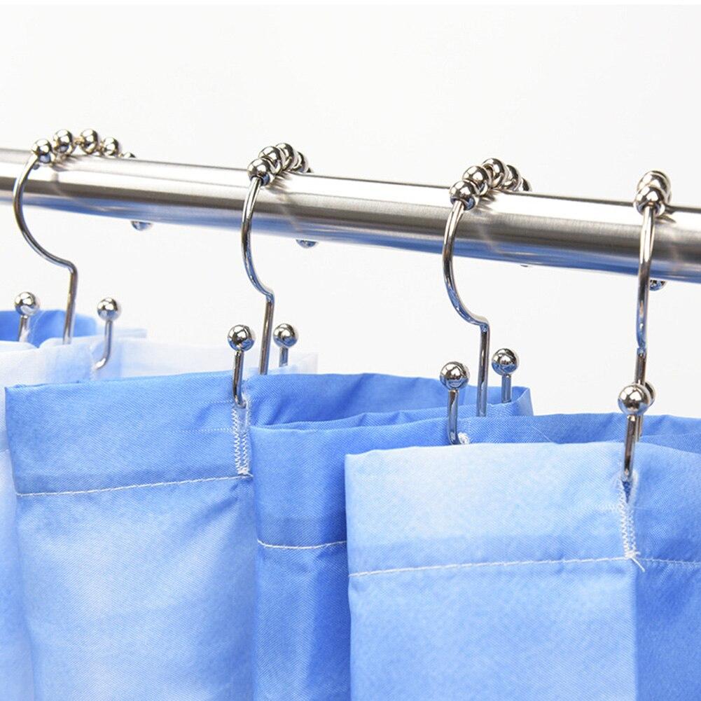 Купить 12 шт крючки набор премиум ванная комната занавеска и вкладыш