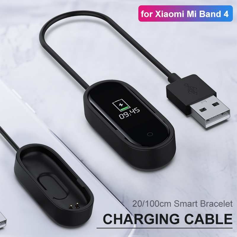 Charger Cable For Xiaomi Mi Band 4 Miband Smart Wristband Bracelet For Xiaomi Band 4 Charging Cable USB Charger Adapter Wire #15