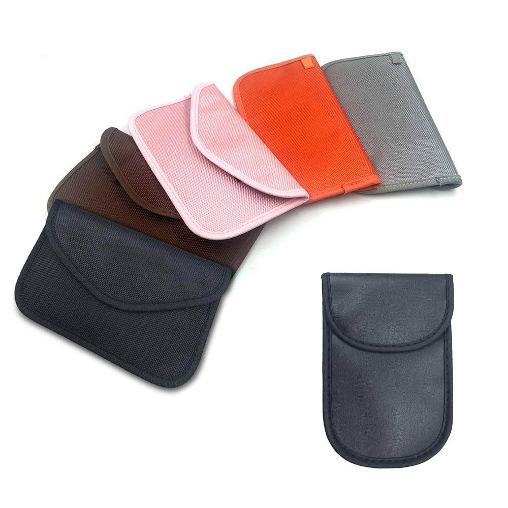 Car Key Signal Blocker Case Waterproof Anti-Tracking GPS RFID Bag For Cell Phone