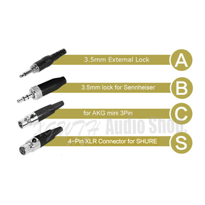 Image 3 - Headset Condenser ME3 Microphone Headworn Mic For AKG Shure Senheiser Audio Technica Wireless Bodypack Transmitter System