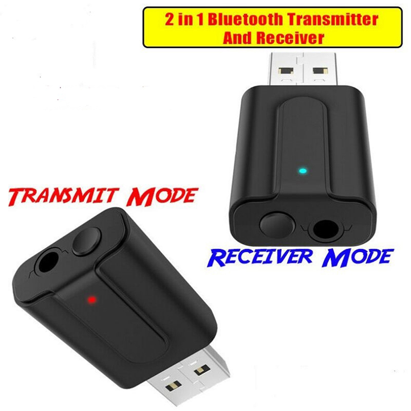 Portability Two In One USB <font><b>Bluetooth</b></font> <font><b>5.1</b></font> Transmitter And <font><b>Receiver</b></font> Television Computer Wireless Audio USB <font><b>Bluetooth</b></font> Adapter image