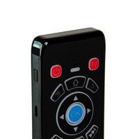 ir למידה T16 עם תאורה אחורית קול אייר עכבר עם RF 2.4G מקלדת מסך מגע מרחוק עם למידה IR עבור אנדרואיד טלוויזיה תיבת IPTV Smart TV (3)
